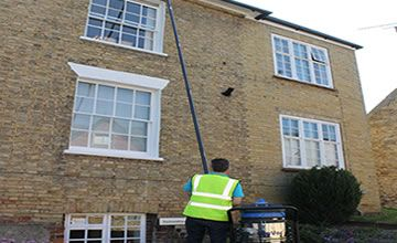 Three Storey Gutter Cleaning