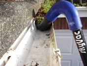 Cleared Gutter